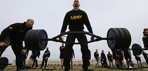 The Army Combat Fitness Test – США